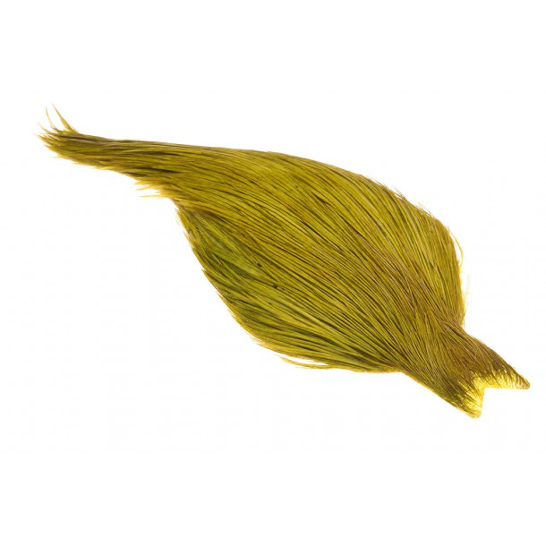 (Bronce Grade) Whiting Red Label Dryfly - Golden Olive