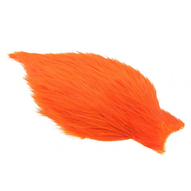(Bronce Grade) Whiting Spey Rooster - Orange