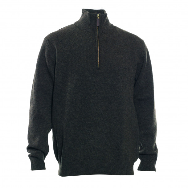 Deerhunter Hastings strik m. zip-neck