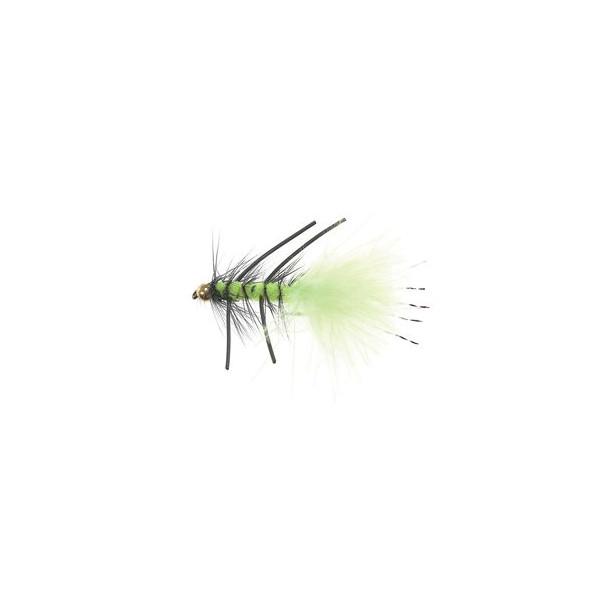 B.H.Rubber Leg Wooly FL.Green