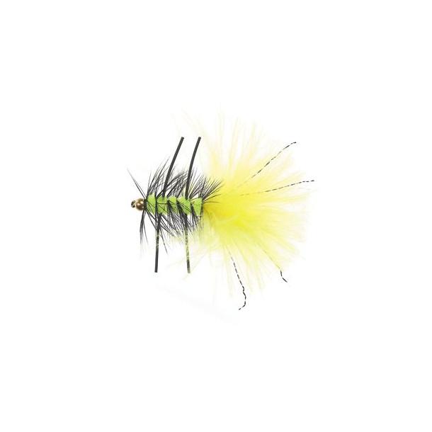 B.H.Rubber Leg Wooly Fl.Yellow