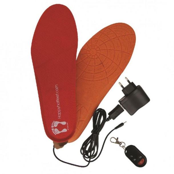 Happy Hot Feet - trådløs varmesåler m. remote
