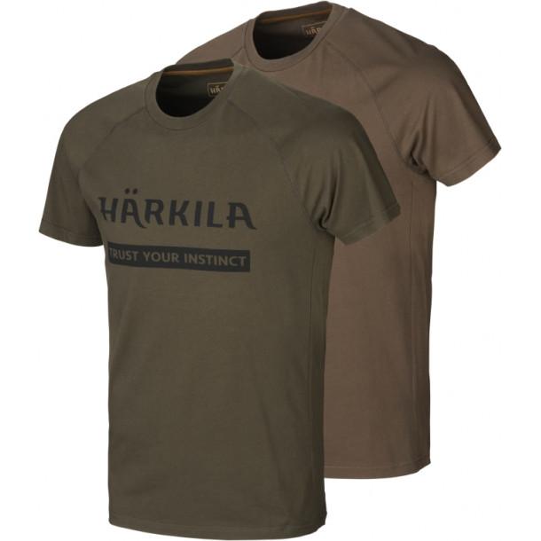 Härkila Logo T-shirt 2-pack