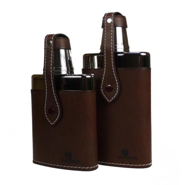 Beier glas lommelærke med 2 glas