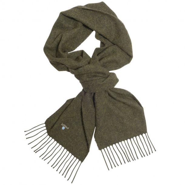 Barbour Plain Lammeulds halstørklæde