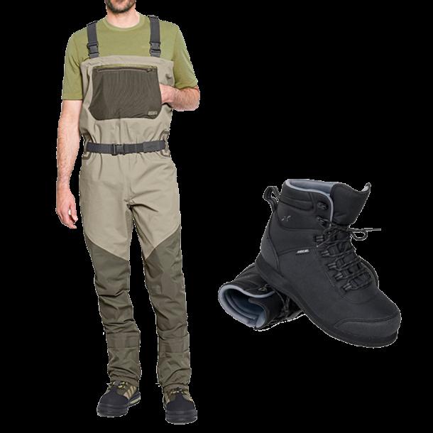 Orvis Vadesæt m/Guideline støvle