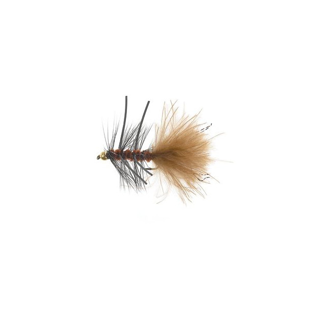 B.H.Rubber Leg Wooly Brown