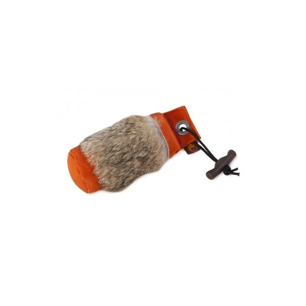 Firedog Dummy 500 g orange med kaninskind