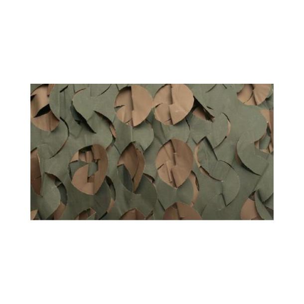 Camouflage net 1.5 x 4 meter.
