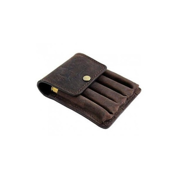 Canard Patronpung i brunt luxus læder