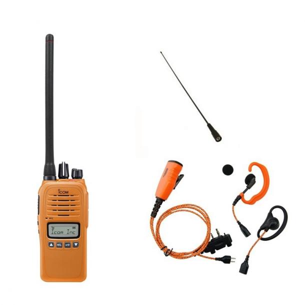 Icom IC-F1000S - Pakke med headset og skovantenne
