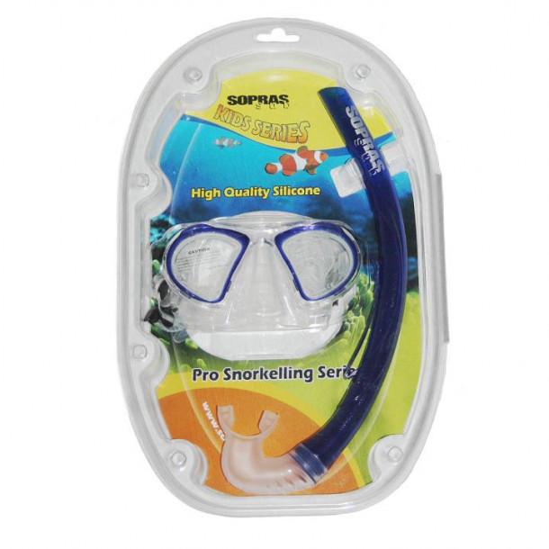 Silikone Snorkel/Maske Sæt Til Børn