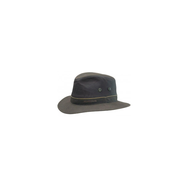 Stetson Ava hat waxed cotton