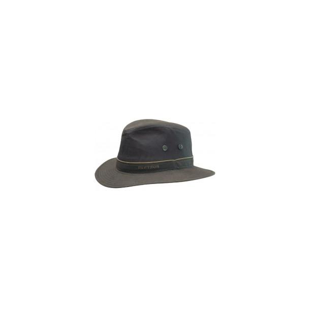 Stetson Ava hat waxed cotton