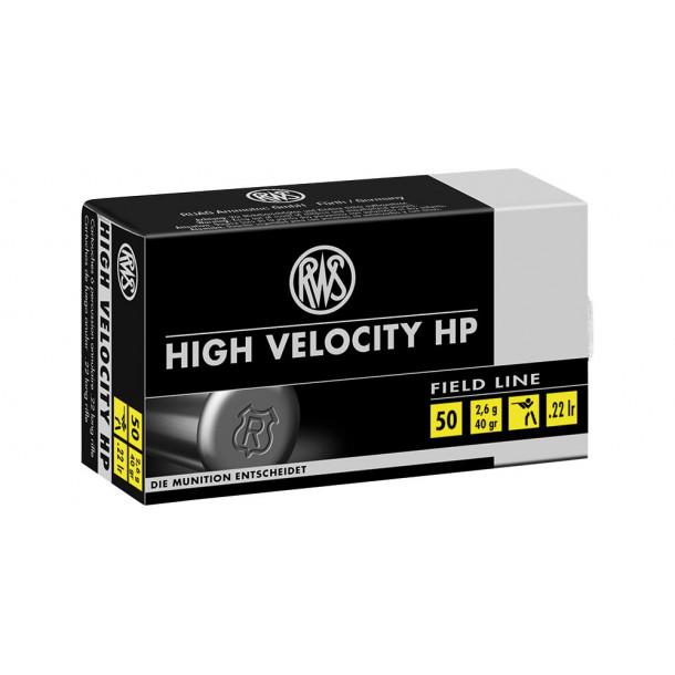 RWS .22 High Velocity HP