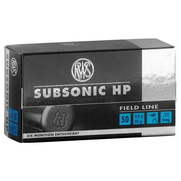 RWS .22 Subsonic HP
